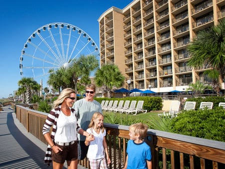 Myrtle Beach Boardwalk Hotels
